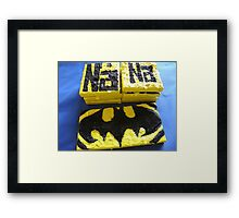 BATMANS BREAKFAST - BATMAN: 8 EGG'S NO42 Framed Print