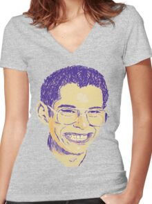Bill Haverchuck Women's Fitted V-Neck T-Shirt