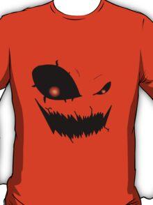 Scary Pumpkin Face Version 2 T-Shirt