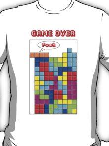 Tetris - GAME OVER T-Shirt