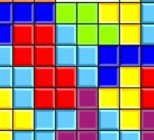 Tetris - GAME OVER Sticker