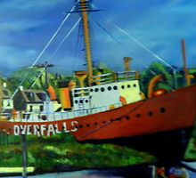 THE OVERFALLS, LEWES DE USA by RHAREart