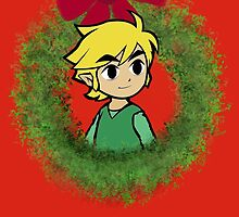 Holiday Wreath Link by RupeeShards