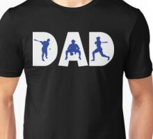 """Dad Father's Day """"Baseball Dad"""" Unisex T-Shirt"""