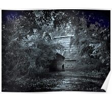 Silvery Moon Poster