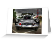 Chevy Stylemaster Greeting Card