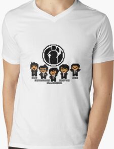 Pixel Invictus Gaming Mens V-Neck T-Shirt