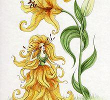 Yellow Lily by Mariya Olshevska
