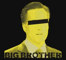 Mitt Romney big brother 2012 by Tia Knight