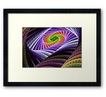 Rainbow Serpent Framed Print