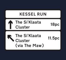 Kessel Run Smugglers Sign Kids Clothes