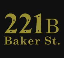 221B Baker Street (simple version) by Yiannis  Telemachou