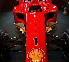 Ferrari F1 by Gleb Zverinskiy