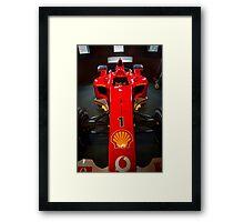 Ferrari F1 Framed Print