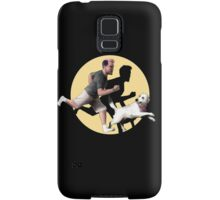 Markiplier and Chica (TinTin style) Samsung Galaxy Case/Skin