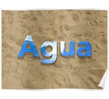 Agua Relax Poster