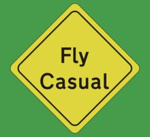 Fly Casual Sign Kids Tee
