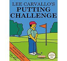 Lee carvallo's Golf Photographic Print