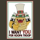 Bowser Wants You - border by FlamingDerps