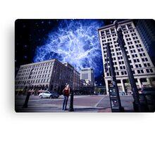 Astro City  Canvas Print