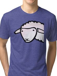 Sheep - Street art Tri-blend T-Shirt