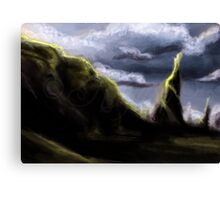 Landscape 1 (Tomb of time) Canvas Print