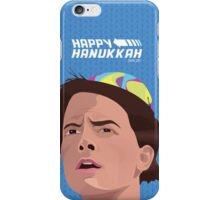 BACK TO THE FUTURE HANUKKAH iPhone Case/Skin