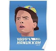 BACK TO THE FUTURE HANUKKAH Poster