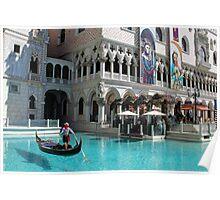Gondoleer ~ Venetian Poster