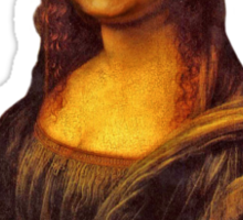 Bill Murray as Mona Lisa Sticker