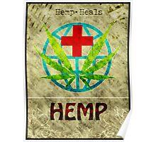 Hemp Heals Poster