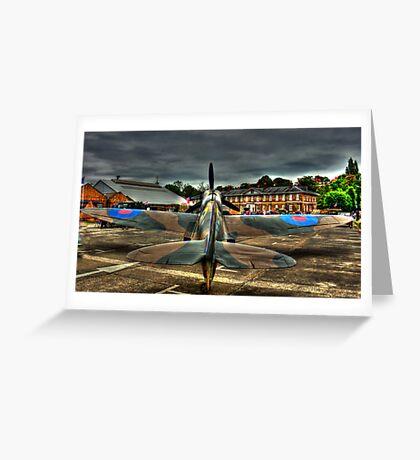 Mk 2 Spit Greeting Card
