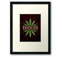 3volv3 Love Framed Print