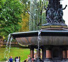 The Central Park fountain of.... by Luis Miguel