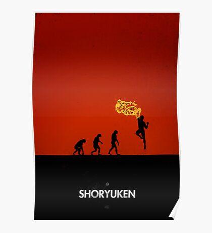 99 Steps of Progress - Shoryuken Poster