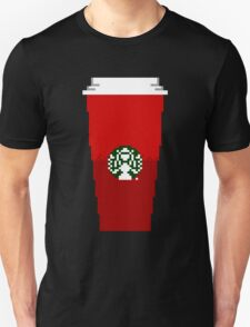 Holiday Red Coffee Cup T-Shirt