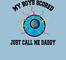 """Dad To Be Future Dad """"My Boys Scored..."""" Unisex T-Shirt"""