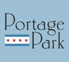 Portage Park Neighborhood Tee Baby Tee