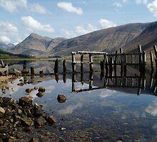 Bones of Etive, Scotland by Alan Stuart