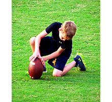 future football player Photographic Print