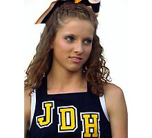 cheerleader :) Photographic Print