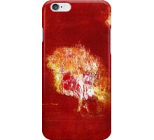 Mysterious tree woman iPhone Case/Skin