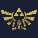 Crest of Hyrule by afternoonTlight