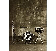 Heavy Metal Music Co. Photographic Print