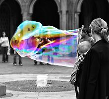 Bubbles are for all ages... by Luis Miguel