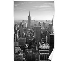 Skylines - Manhattan, New York, USA Poster