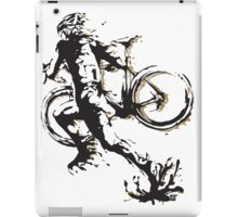 Cyclocross mud iPad Case/Skin