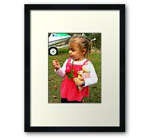 purely cute! Framed Print