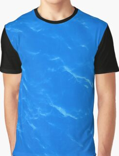 Colors of the Sea Water - Sky Blue Graphic T-Shirt