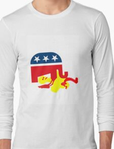 GOP vs. PBS Long Sleeve T-Shirt